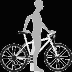 Выбор ростовки рамы велосипеда.